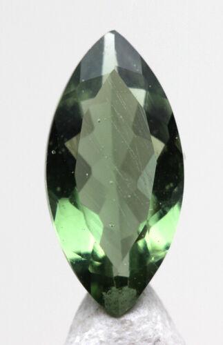Faceted Moldavite Gemstone Meteorite Impactite Tektite AUTHENTICITY GUARENTEED!