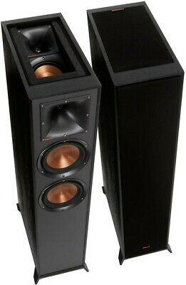 Klipsch R-625FA Atmos Enabled Speakers - Floorstanding Loudspeakers Up-Firing