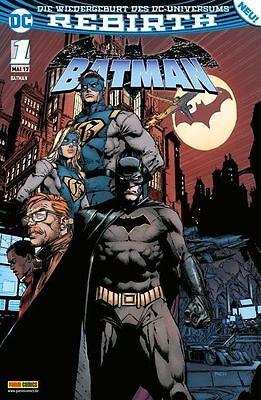 Batman 1- Rebirth    Panini Comics  2017