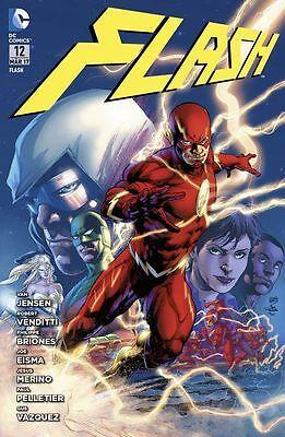 Flash 12 (Serie 2012): Treibjagd auf den roten Blitz - Deutsch - Panini -NEUWARE