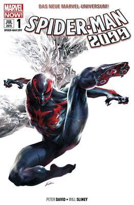 SPIDER-MAN 2099 SONDERBAND (deutsch) #1,2+3 (2015) + #1 (2016)  SPIDER-VERSE