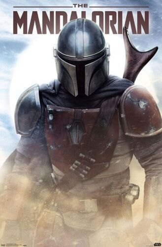 THE MANDALORIAN - BATTLE POSTER - 22x34 - STAR WARS 17775