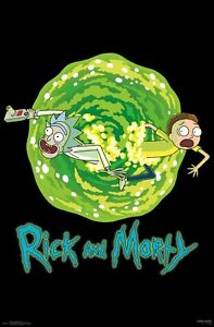 RICK AND MORTY - PORTAL POSTER 22x34 - TV SHOW 15460