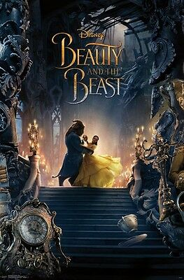 - BEAUTY AND THE BEAST - TRIP 2 MOVIE POSTER 22x34 - DISNEY NEW 15842