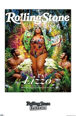 LIZZO - ROLLING STONE COVER POSTER - 22x34 - MUSIC 18676 Rock Music Poster