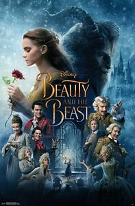 Beauty and the Beast - Disney - Emma Watson - Movie Poster