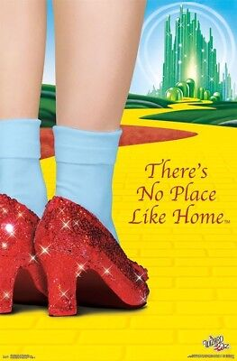 - WIZARD OF OZ - NO PLACE LIKE HOME POSTER - 22x34 - CLASSIC MOVIE 16483