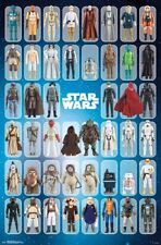 STAR WARS - TOY FIGURE COLLAGE POSTER - 22x34 - CHARACTERS 16966