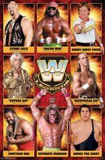 WWE - LEGENDS POSTER - 22x34 - WRESTLING FLAIR AUSTIN MICHAELS WARRIOR 16054