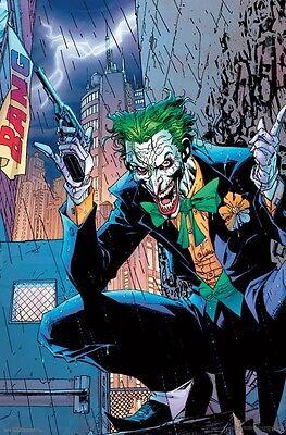 Batman Poster (JOKER - BANG COMIC POSTER - 22x34 - DC COMICS BATMAN)