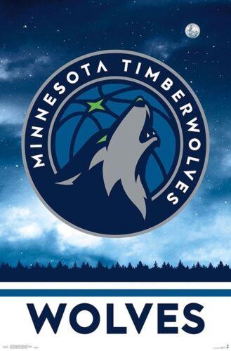 Minnesota Timberwolves Official Nba Basketball Team Logo 2019 Wall