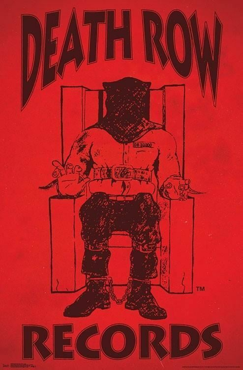 Death Row Records Poster 22 X 34