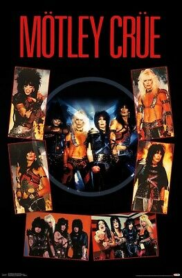 MOTLEY CRUE - SHOUT AT THE DEVIL POSTER - 22x34 - MUSIC 17778