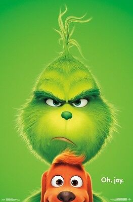Grinch Poster (GRINCH MOVIE - KEY ART POSTER - 22x34 - SEUSS)