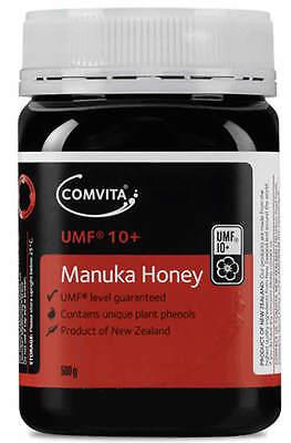 Comvita UMF 10+ Manuka Honey 500g for Immune Support