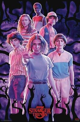 STRANGER THINGS - SEASON 3 - GROUP COLLAGE POSTER - 22x34 - TV 17293