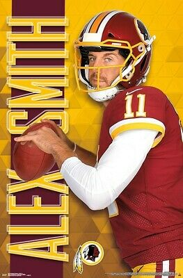 Alex Smith - Washington Redskins Poster - 22x34 NFL Fußball 16687