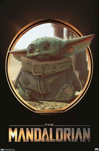 THE MANDALORIAN - BABY YODA POSTER - 22x34 - STAR WARS 18510