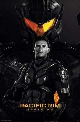 PACIFIC RIM UPRISING - SCOTT TEASER - MOVIE POSTER - 22x34 - 16085 for sale  Salem