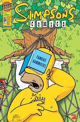 SIMPSONS COMICS # 84 + XXL-HALLOWEEN-POSTER - PANINI COMICS 2003 - TOP