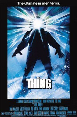 THE THING - MOVIE POSTER 24x36 - HORROR CLASSIC 52574