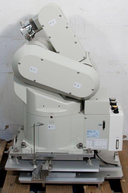 Mitsubishi Rv-e14nhc-sa06 Wafer Transfer Industrial Robot Tokyo Electron Tel