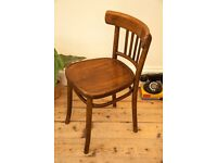 1930's Thonet Design Bentwood Chair