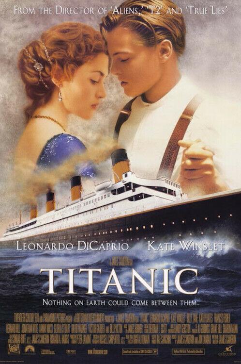 "Titanic Movie 24x36"" Poster!"