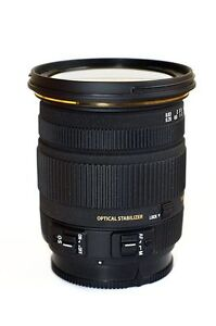 Sigma 17-50mm f/2.8 + ND Filter (Canon Mount)