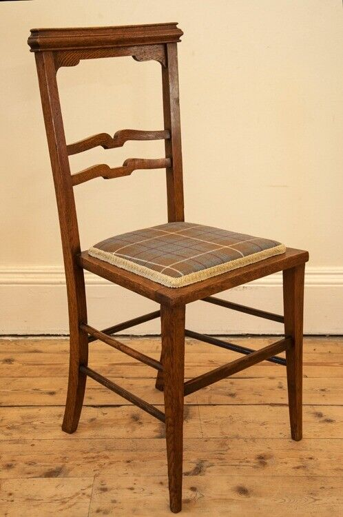 Antique Oak Arts and Crafts Chair - Antique Oak Arts And Crafts Chair In Polwarth, Edinburgh Gumtree