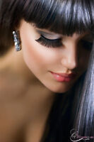 beauty services, hair, lashes, makeup, wax, threading, extension