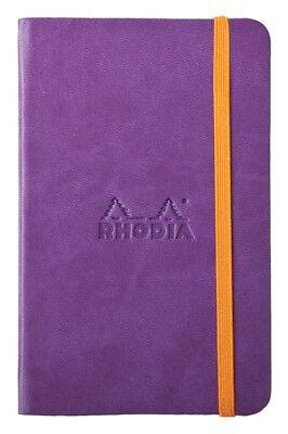 Rhodia Rhodiarama Webbies - Notebook - Purple - Lined - 3.5 X 5.5 - New R118650