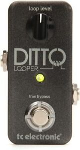TC ElectronicDitto Looper Pedal- NEW