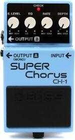 Super Chorus CH-1 Boss - Guitar Pedal