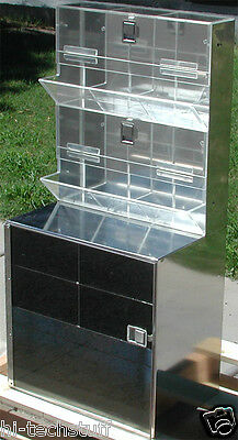 Stainless Steel Cleanroom Lab Supply Storage Cabinet 38 X 18 X12