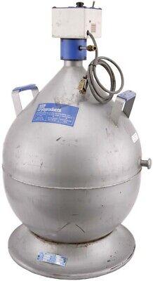 Boc Cryoproducts Msc-25 25l Liquid Nitrogen Canistertank Dewar Cryogenic