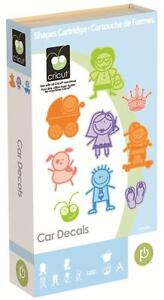 NEW!!  Cricut cartridge Car Decals!!  Retired/ HTF!  Free shipping!!