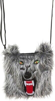 Orl - Kostüm Zubehör Handtasche Wolf zu Tierkostüm Karneval Fasching