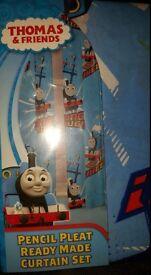 Brand new Thomas the tank engine curtains
