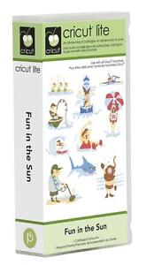 Cricut Fun in the Sun lite cartridge - $45