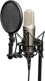 Rode NT2-A condenser microphone & accessories - boxed as new Coburg Moreland Area Preview