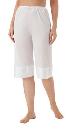 velrose lingerie plus size snip it crochet edge petti pant style 6219 1x 5x