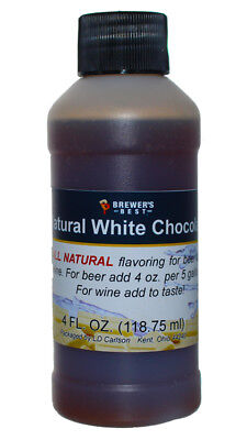 Brewer's Best Natural Beer and Wine Fruit Flavoring (White Chocolate)