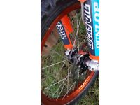 "ktm factory wheels 21"" & 19""& powerpart sxf 250 350 450 125 150 200 300 sx exc xc sm pro talon did"