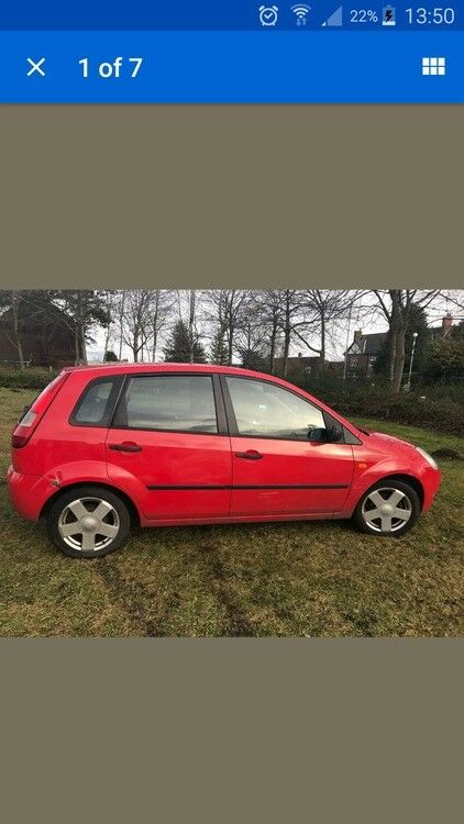 FORD FIESTA ZETEC SWAP 4 UR VAN CAN ADD LITTLE CASH