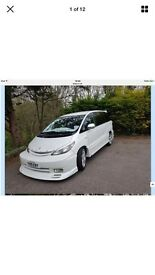 Stunning 1 off toyota estima 2.4 show van! limo conversion ! look!!!