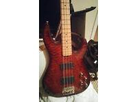 Ltd surveyor 414 bass guitar