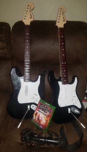 Rock Band 4 Xbox One Band in a Box Bundle with Extra Guitar