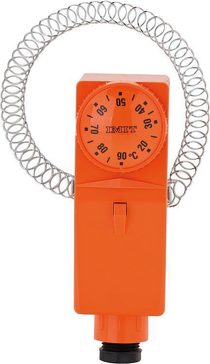 Anlege-thermostat TCE-BRC / A mit außenliegende Verstellung 20- 90° C Außenskala