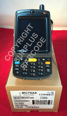 Zebra Motorola MC75A 4G EVDO Wireless 1D 2D Barcode Scanner MC75A8 Sprint GPS QR - Sprint-gps
